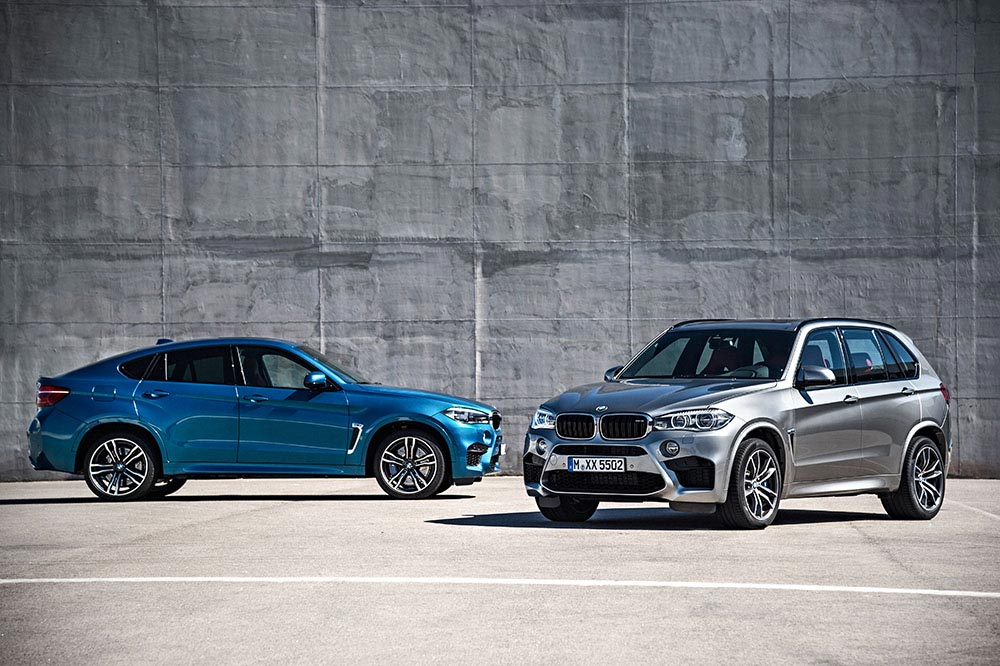 The new BMW X5 M and new BMW X6 M 4