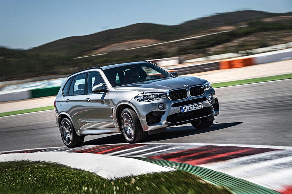 The new BMW X5 M and new BMW X6 M 5
