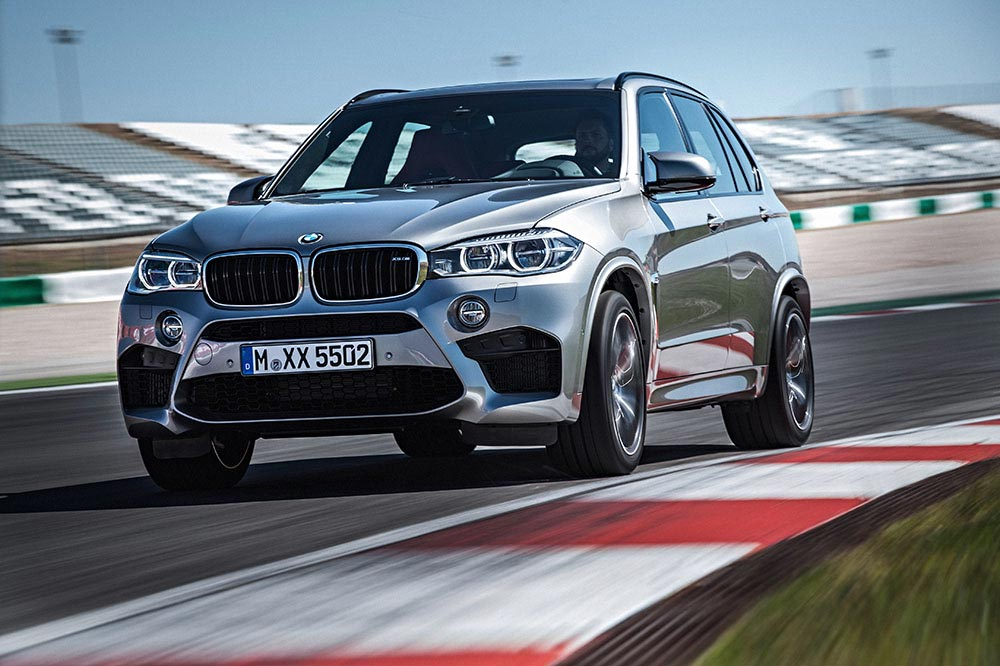 The new BMW X5 M and new BMW X6 M 6