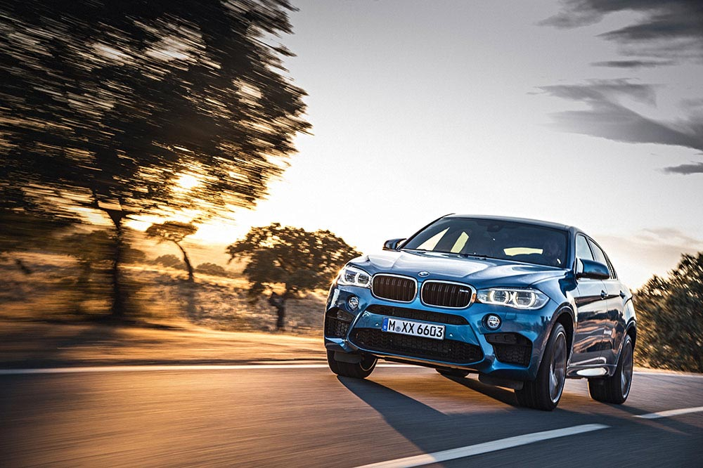 The new BMW X5 M and new BMW X6 M 7