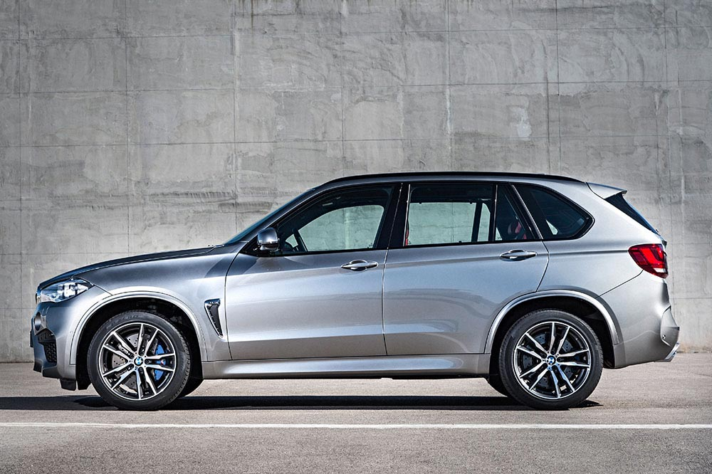 The new BMW X5 M and new BMW X6 M 10