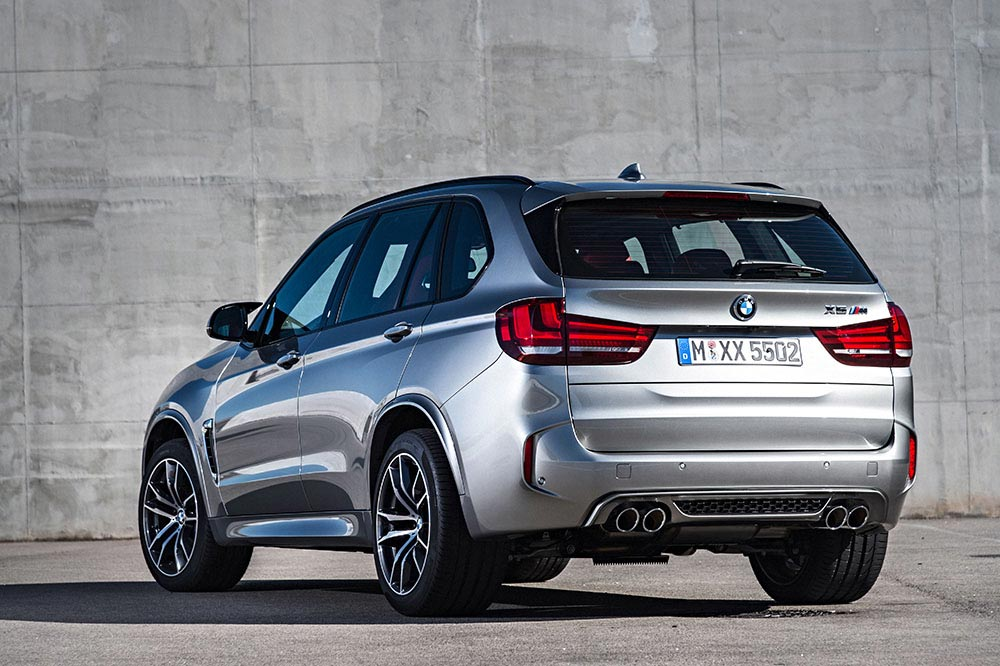 The new BMW X5 M and new BMW X6 M 11