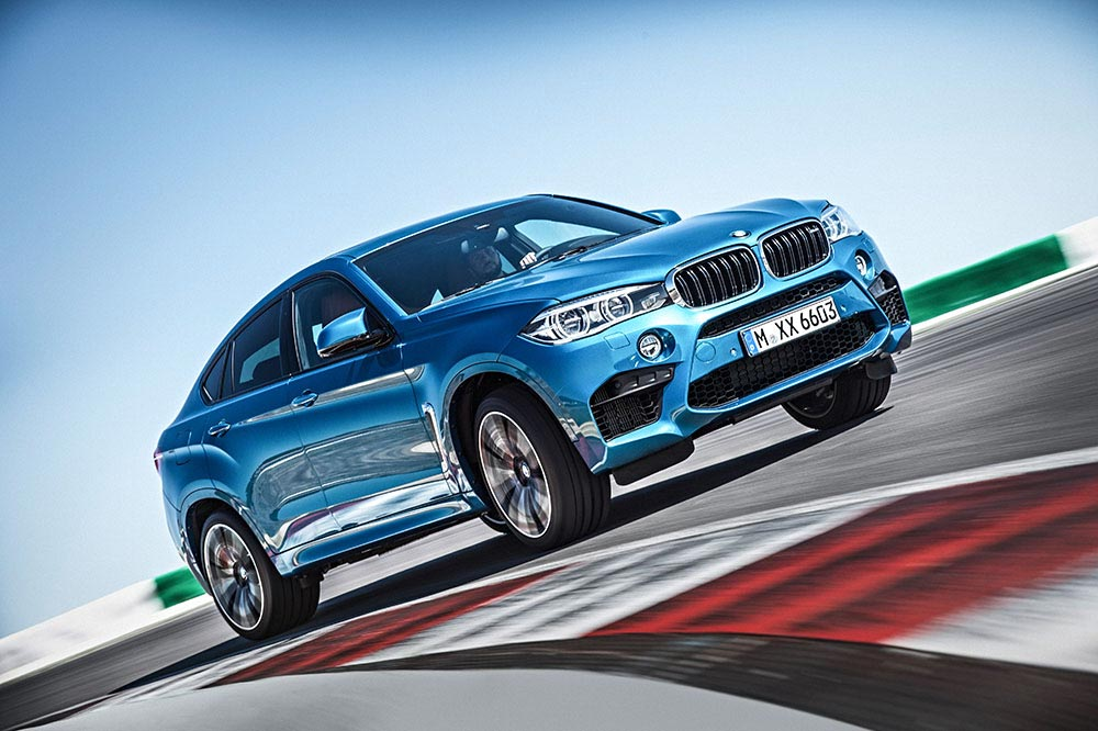 The new BMW X5 M and new BMW X6 M 13