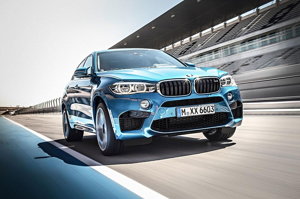 The new BMW X5 M and new BMW X6 M 14