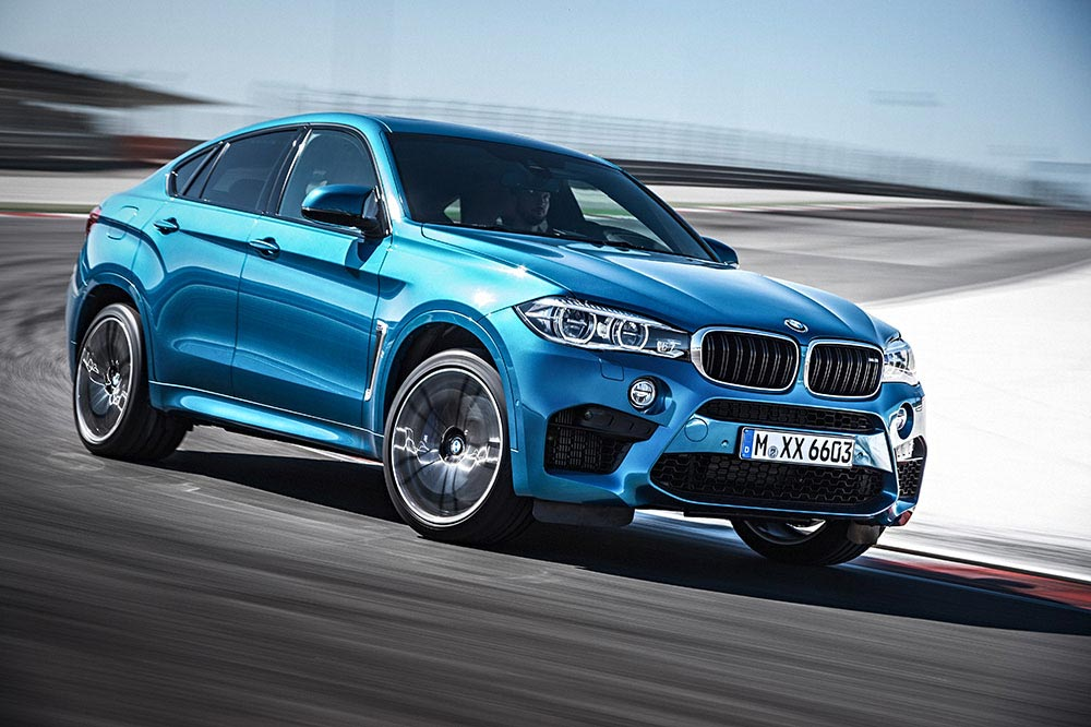 The new BMW X5 M and new BMW X6 M 15