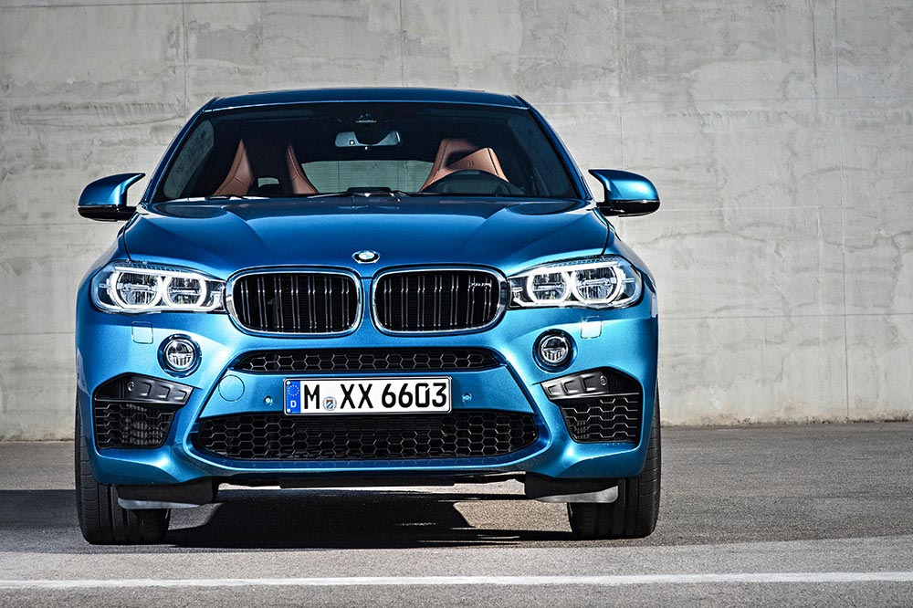 The new BMW X5 M and new BMW X6 M 16