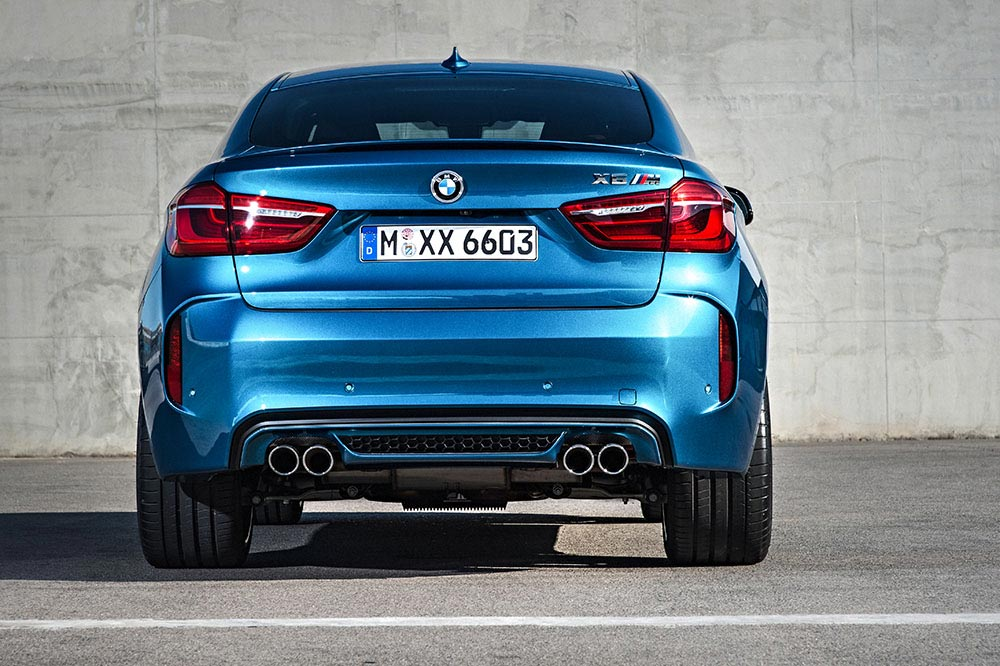 The new BMW X5 M and new BMW X6 M 17