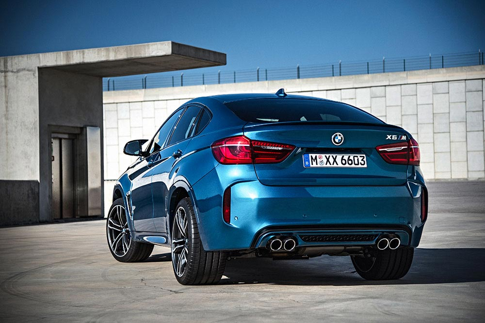 The new BMW X5 M and new BMW X6 M 19