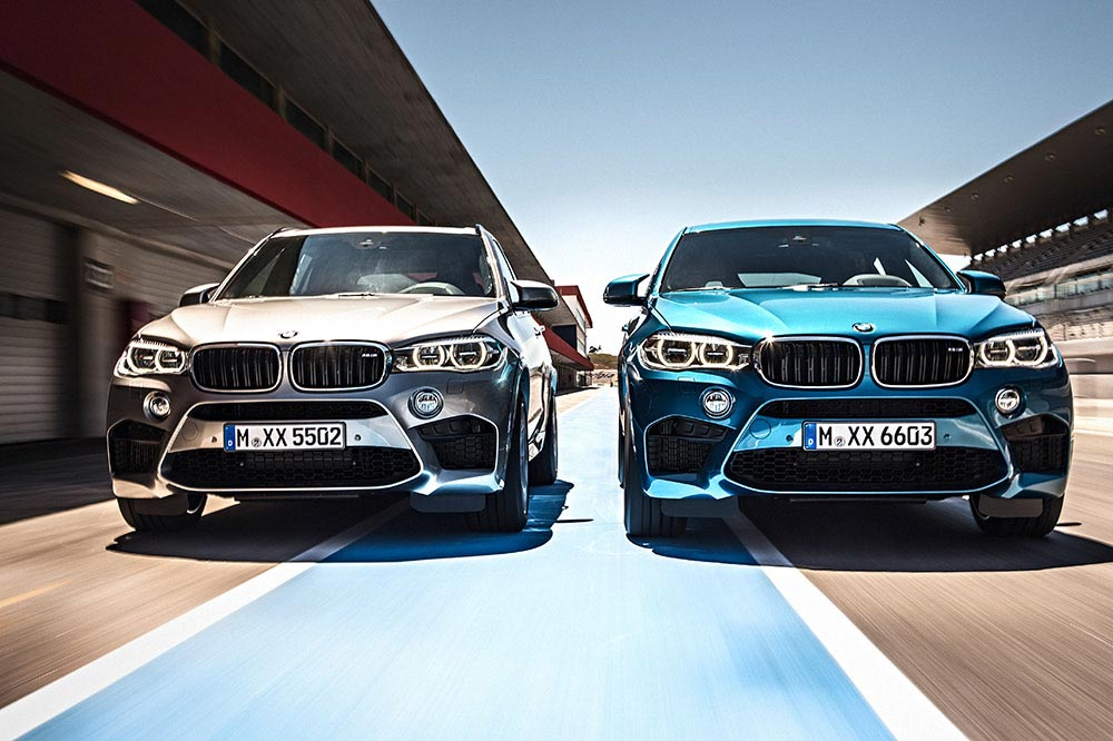 The new BMW X5 M and new BMW X6 M 1
