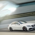 The new Mercedes AMG C 63 Saloon