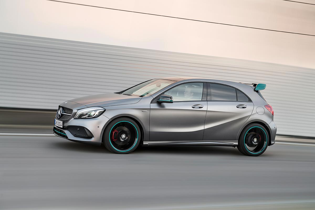 The new generation A-Class: A 250 Motorsport Edition 2