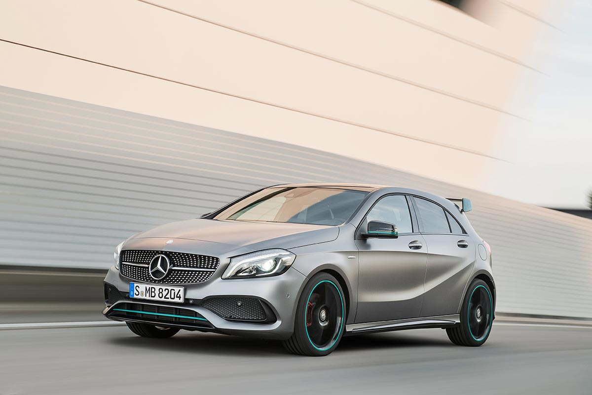 The new generation A-Class: A 250 Motorsport Edition 4