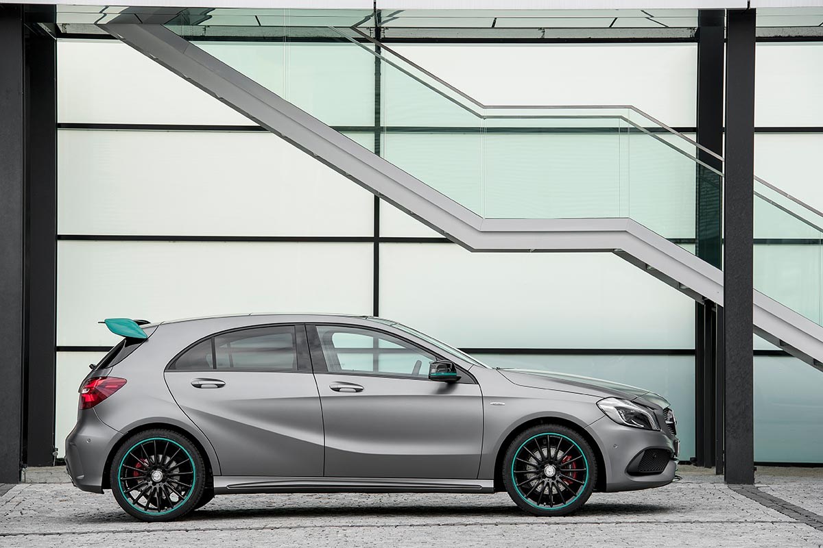 The new generation A-Class: A 250 Motorsport Edition 8