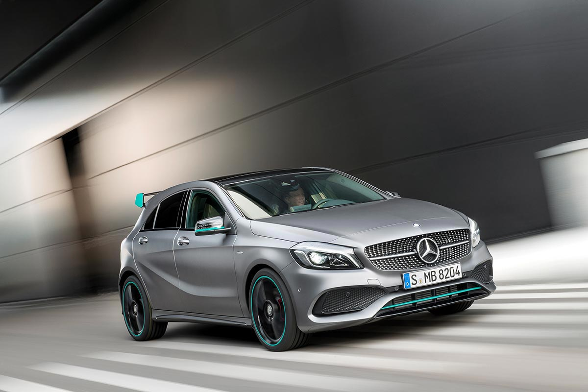 The new generation A-Class: A 250 Motorsport Edition 1
