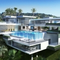Two Contemporary Mansions on Sunset Plaza Drive in LA