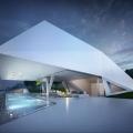 Futuristic: Villa F by Hornung & Jacobi Architecture