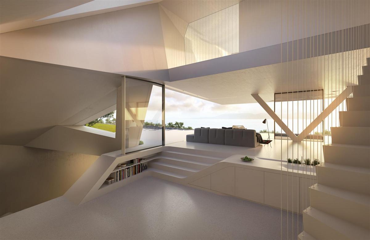 Futuristisch: Villa F by Hornung & Jacobi Architecture 7