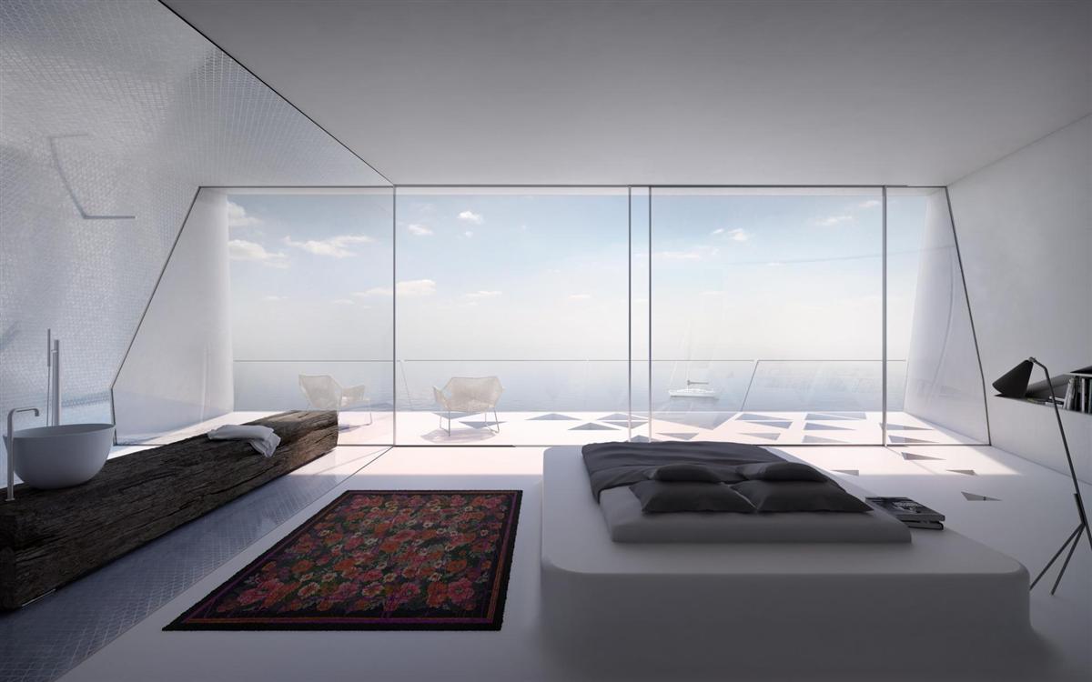 Futuristisch: Villa F by Hornung & Jacobi Architecture 2