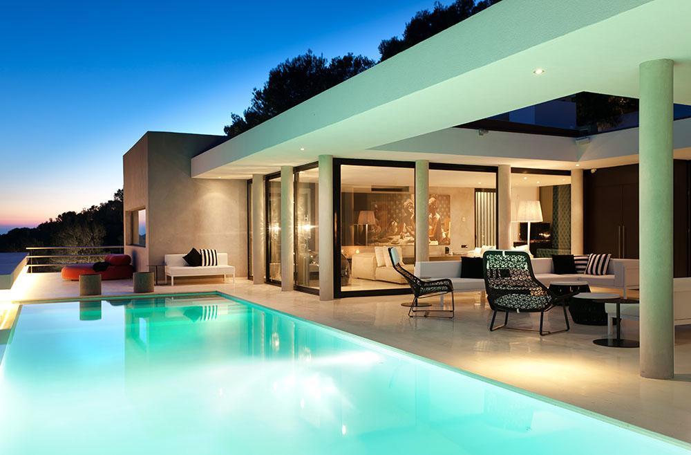 beeidruckende villa in san jose ibiza mr goodlife. Black Bedroom Furniture Sets. Home Design Ideas