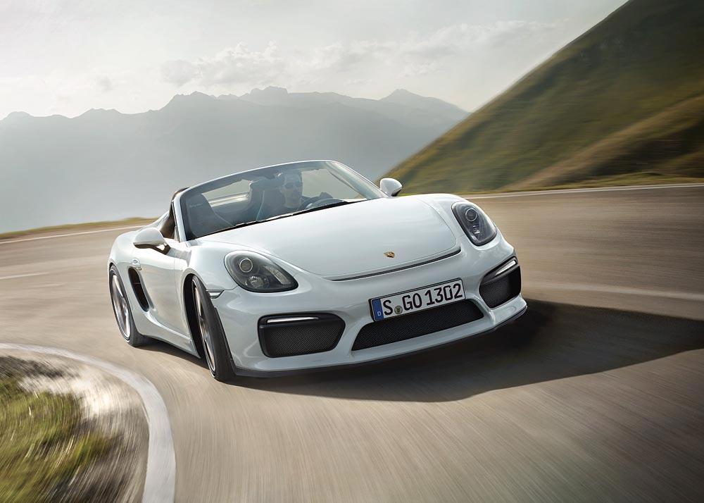 World Premiere Of The New Porsche Boxster Spyder 10