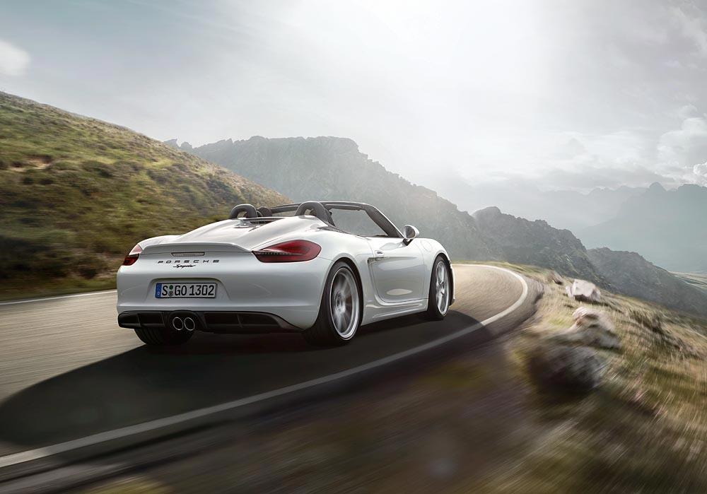 World Premiere Of The New Porsche Boxster Spyder 9