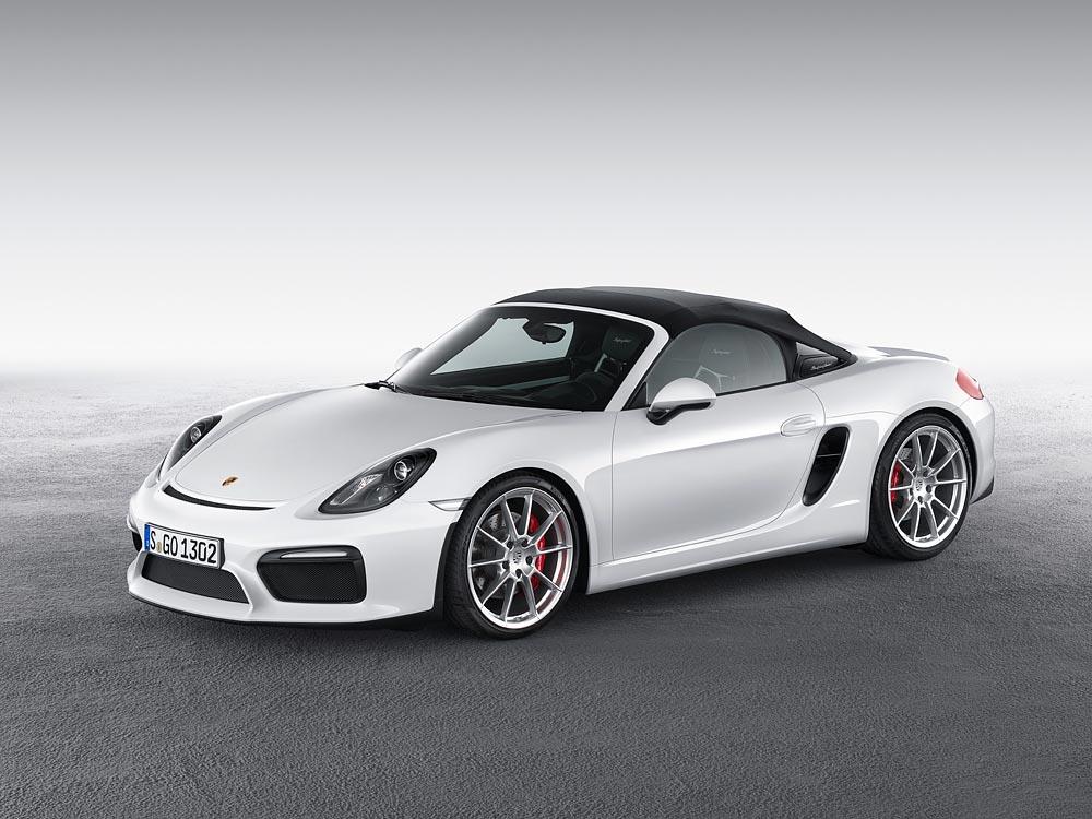 World Premiere Of The New Porsche Boxster Spyder 8