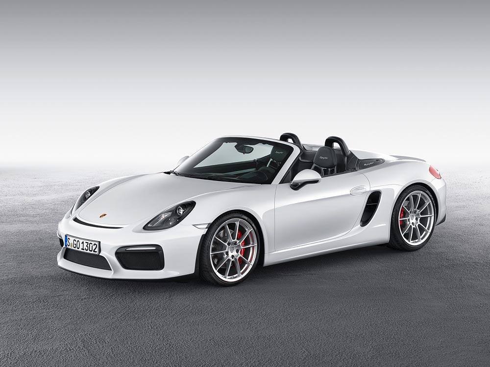 World Premiere Of The New Porsche Boxster Spyder 7