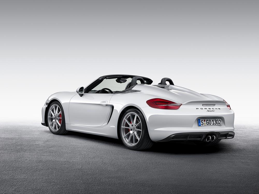 World Premiere Of The New Porsche Boxster Spyder 6