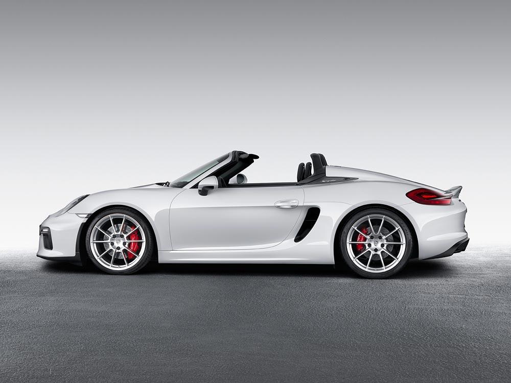 World Premiere Of The New Porsche Boxster Spyder 5