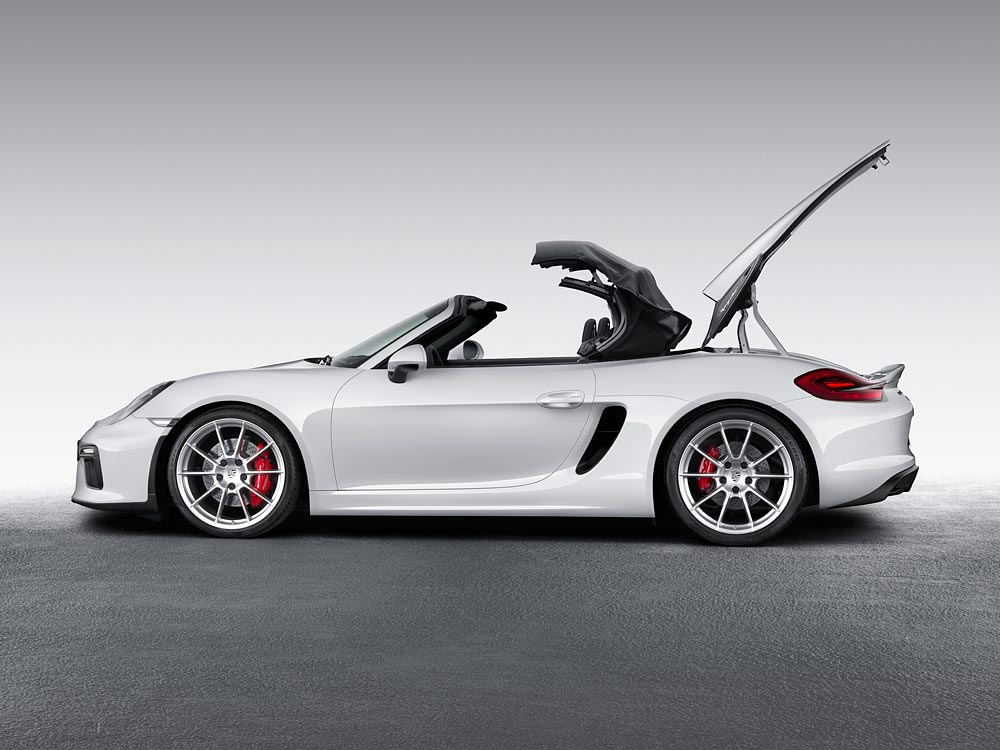 World Premiere Of The New Porsche Boxster Spyder 4