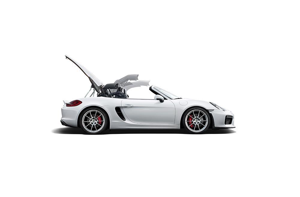 World Premiere Of The New Porsche Boxster Spyder 3