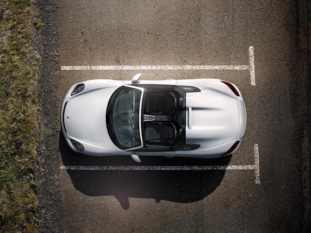 World Premiere Of The New Porsche Boxster Spyder 2