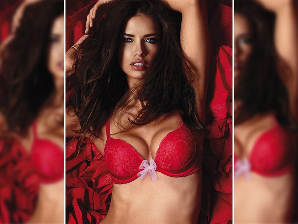 Adriana Lima for Victoria's Secret 2014 Valentine's Day 1