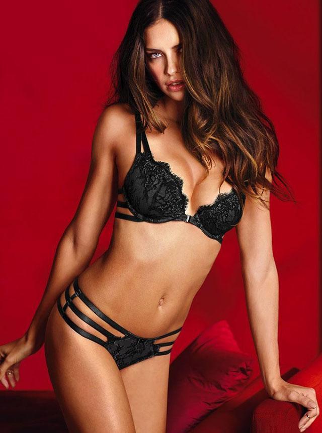 Adriana Lima for Victoria's Secret 2014 Valentine's Day 15