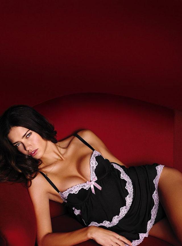 Adriana Lima for Victoria's Secret 2014 Valentine's Day 7