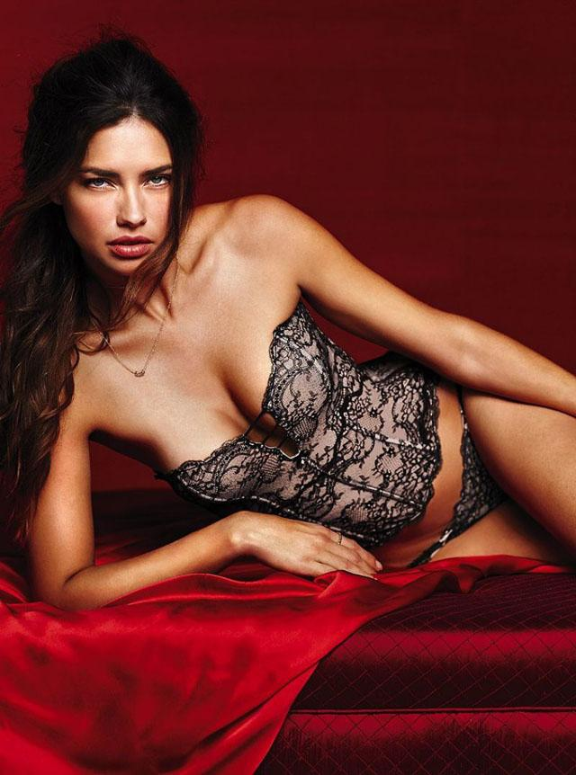 Adriana Lima for Victoria's Secret 2014 Valentine's Day 3