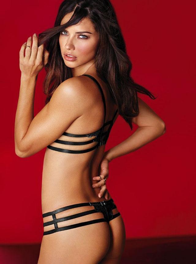 Adriana Lima for Victoria's Secret 2014 Valentine's Day 13