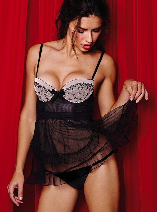 Adriana Lima for Victoria's Secret 2014 Valentine's Day 8