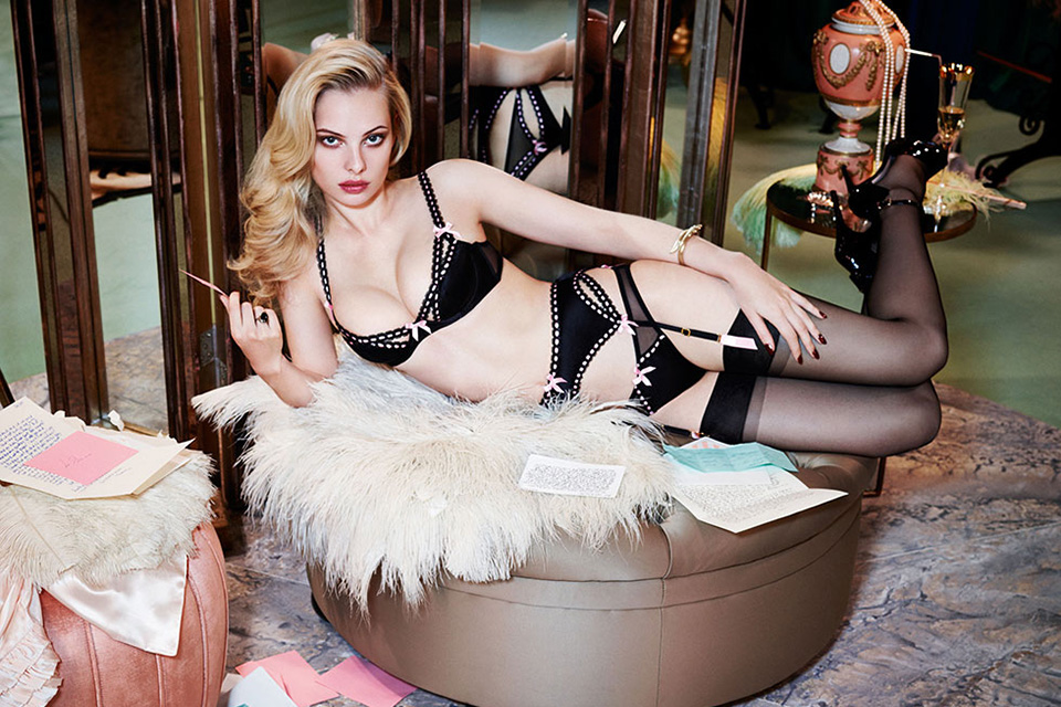 Agent Provocateur Fall/Winter 2014 Campaign 12