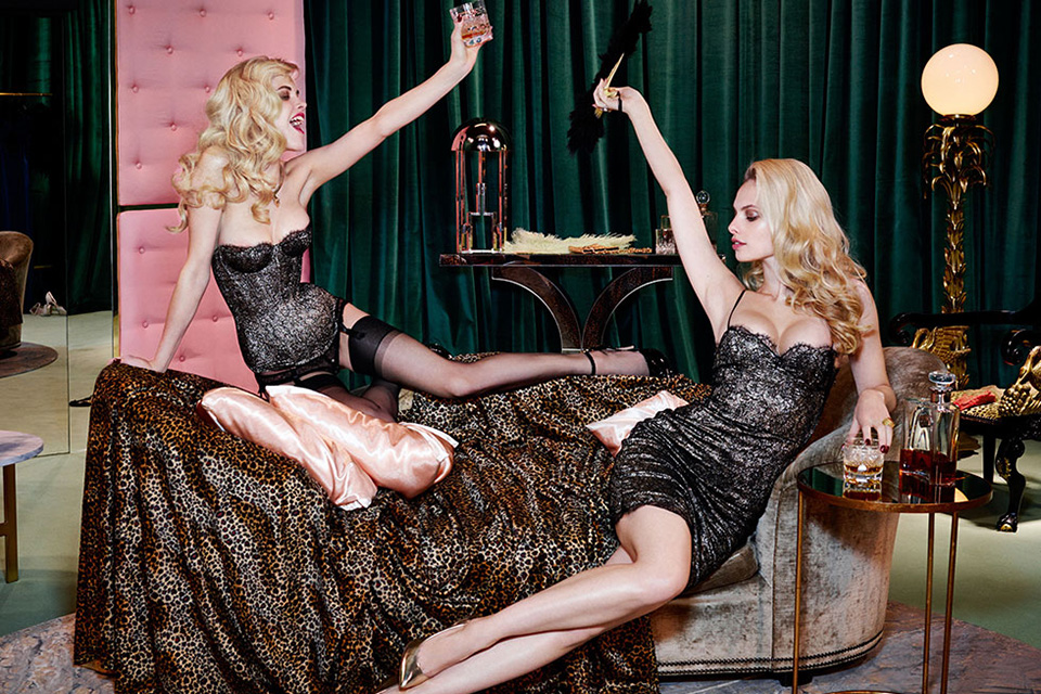 Agent Provocateur Fall/Winter 2014 Campaign 8