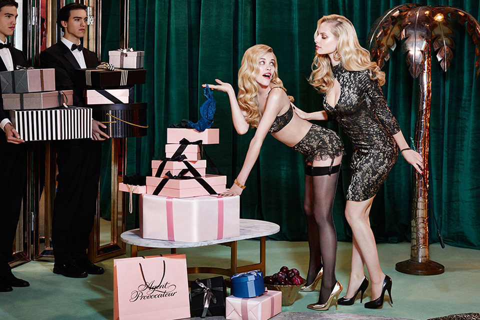 Agent Provocateur Fall/Winter 2014 Campaign 5