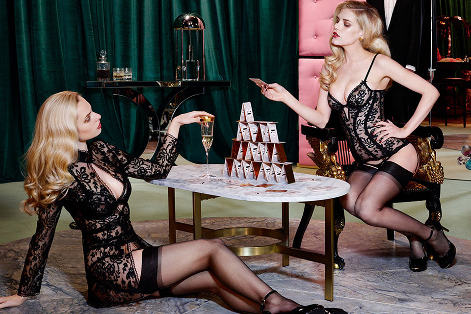 Agent Provocateur Fall/Winter 2014 Campaign 4