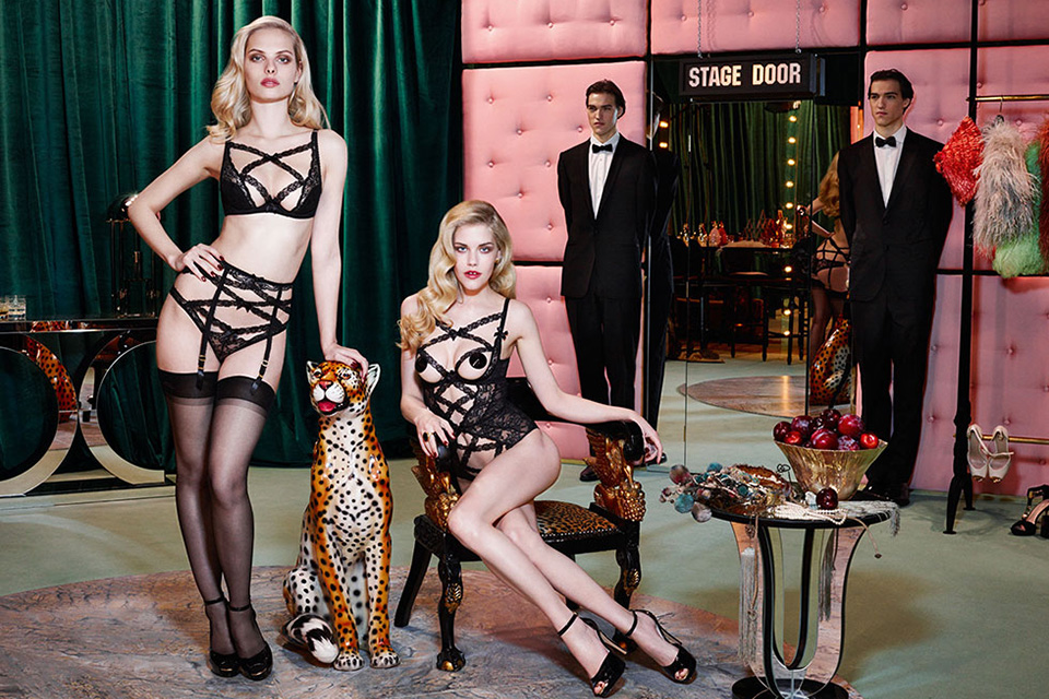 Agent Provocateur Fall/Winter 2014 Campaign 3