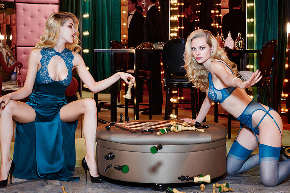 Agent Provocateur Fall/Winter 2014 Campaign 2