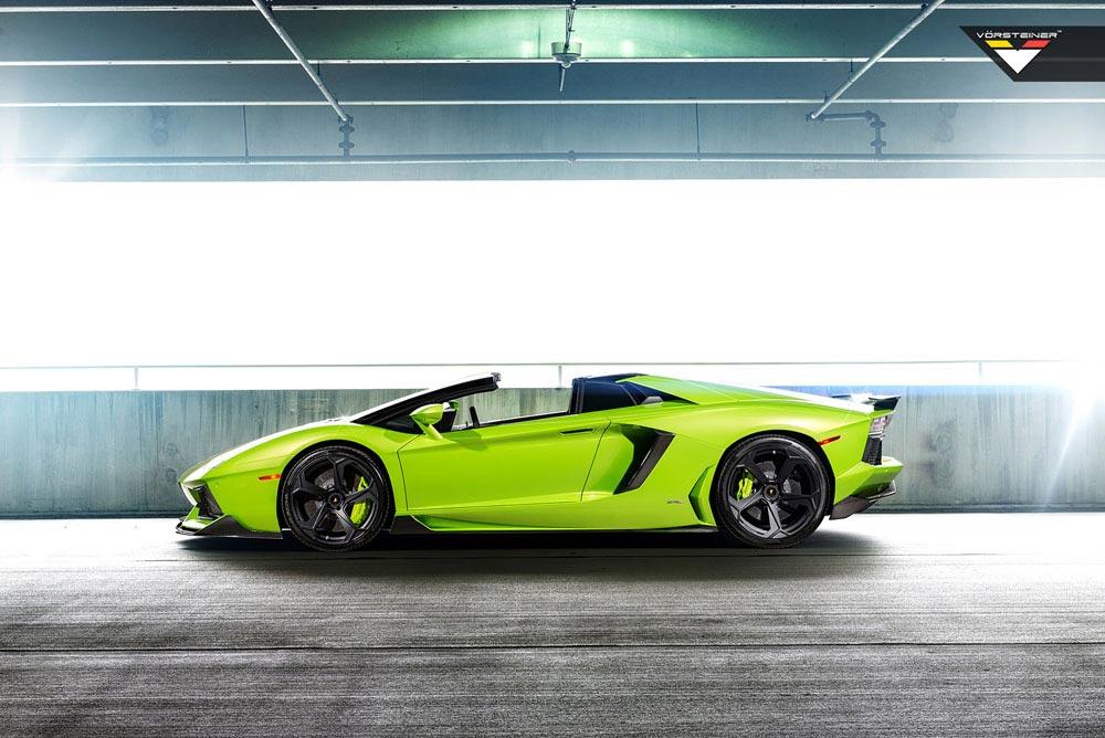 Aventador-V Roadster 'The Hulk' by Vorsteiner 3