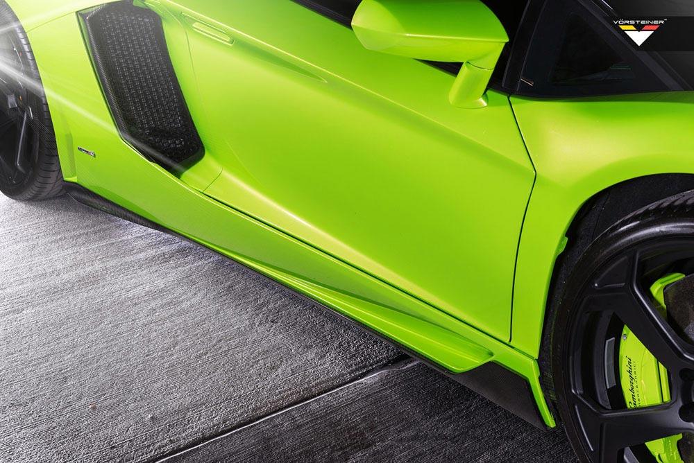 Aventador-V Roadster 'The Hulk' by Vorsteiner 7