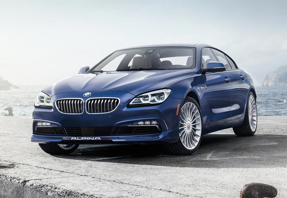 BMW Alpina B6 XDrive Gran Coupe Unveiled 2