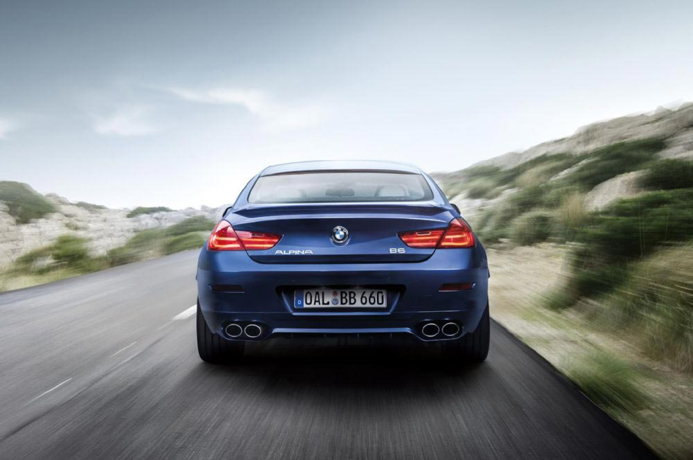 BMW Alpina B6 XDrive Gran Coupe Unveiled 5