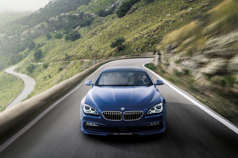 BMW Alpina B6 XDrive Gran Coupe Unveiled 1
