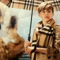"Burberry's ""From London with Love"" Campaign starring Romeo Beckham"